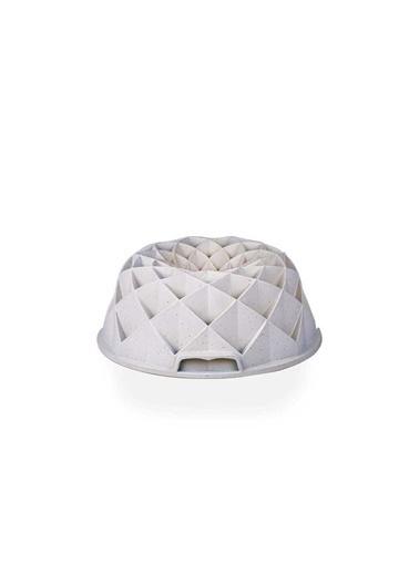 Acar Acar XDD-11743 Diamond Döküm Granit Kek Kalıbı Beyaz Beyaz